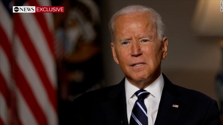 US troops will stay until all Americans are out of Afghanistan, even if past Aug. 31 deadline: Biden to ABC News